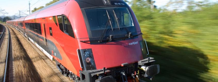 Internet on board für alle Railjets der ÖBB